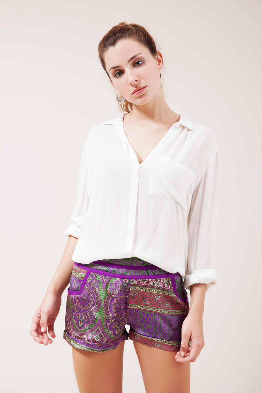 Short Pizul Silk