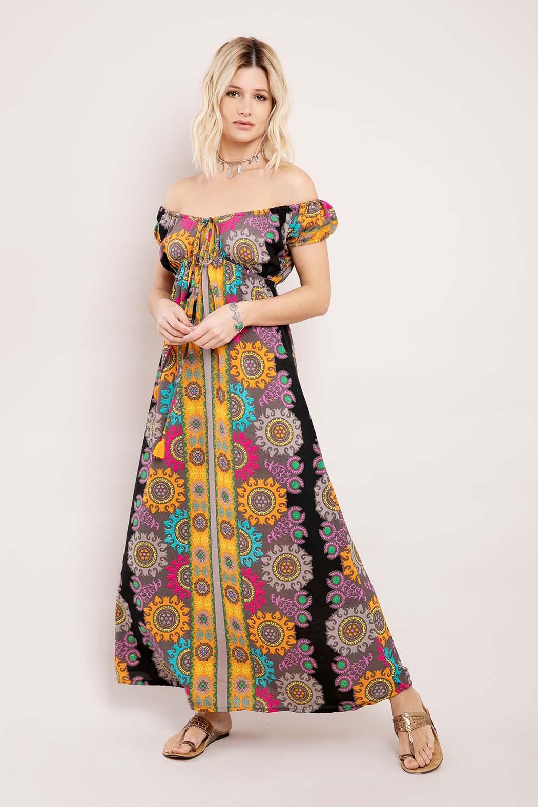 Vestido Largo Sibum