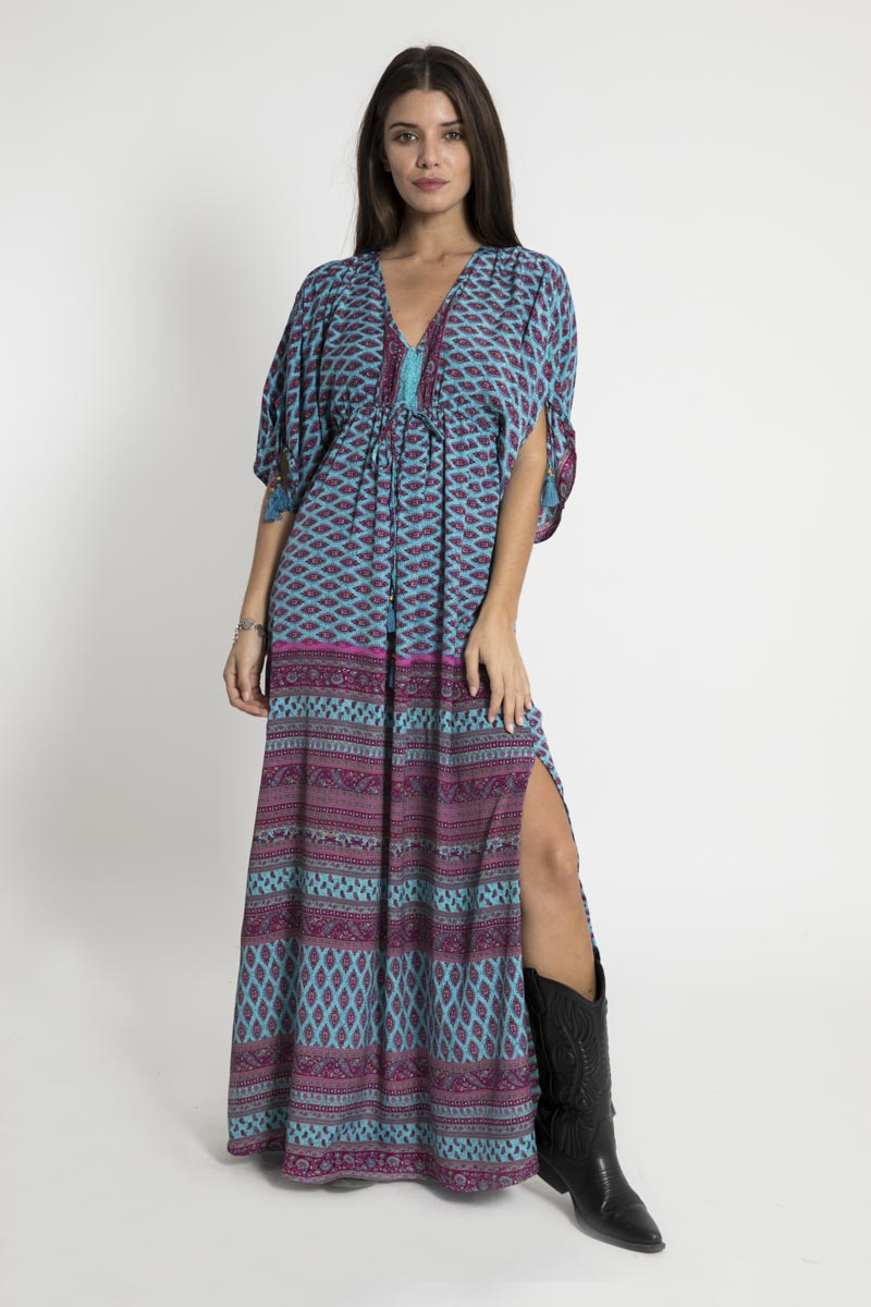 Vestido Largo Van Dyke