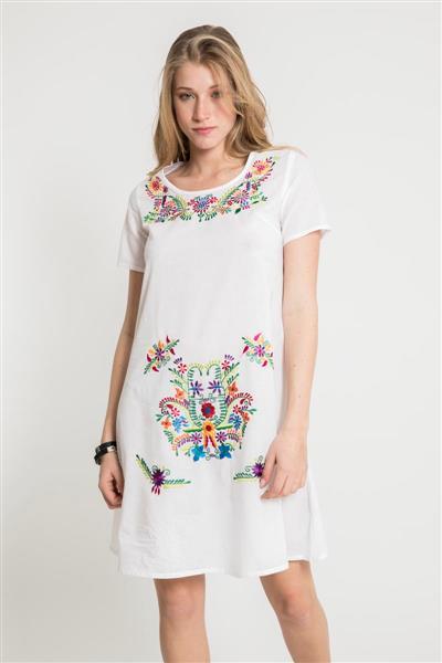 Vestido Corto Mexican
