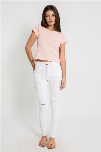 Pantalon White Jeni