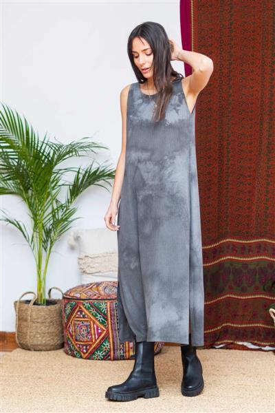 Vestido Largo Abys Batik